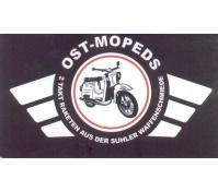 Aufkleber Ost Mopeds