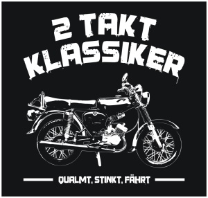 Aufkleber 2 Takt Klassiker S51