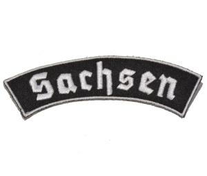 Aufnäher Sachsen