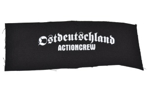 Aufnäher Ostdeutschland Actioncrew K25