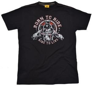 T-Shirt Bikermotiv Born to Ride