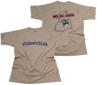T-Shirt Ostdeutschland No Go Area
