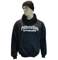 Kapuzensweatshirt Ostdeutschland Actioncrew G35
