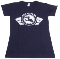 Damen T-Shirt Ost-Mopeds