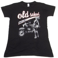 Girl Shirt Old School made in GDR Simson Schwalbe G516