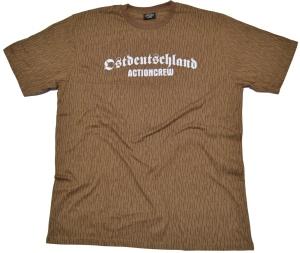 T-Shirt Ostdeutschland Actioncrew NVA tarn G35