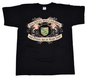 T-Shirt Ossis in Rage Sachsen II Hüte Dich vor Sturm und Win G552U