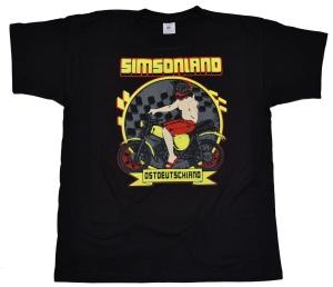 T-Shirt Ostdeutschland ist Simsonland G404U
