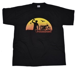 T-Shirt Feierabend Simson Motiv G96U