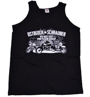 Tanktop bzw. Muckishirt Ostblock-Schrauber II Simson Motiv G
