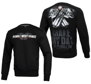 Pit Bull West Coast Sweatshirt Crewneck Make My Day