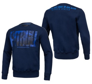 Pit Bull West Coast Crewneck Sweatshirt Royal Dog 19