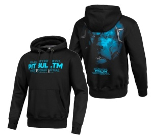 Pit Bull West Coast Kapuzensweat Hooded Blue Eye Devil V