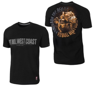 Pit Bull West Coast T-Shirt Unleash the Beast