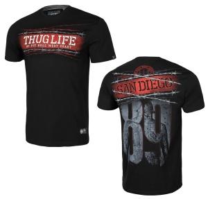 Pit Bull West Coast T-Shirt Thug Life 89