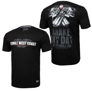 Pit Bull West Coast T-Shirt Make My Day