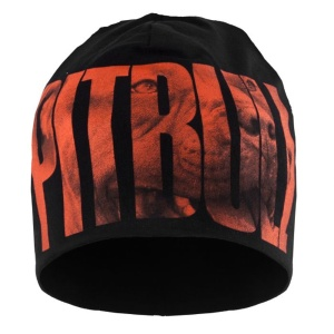 Pit Bull West Coast Beanie Orange Dog 18