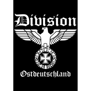 Aufkleber Division Ostdeutschland - Gratis