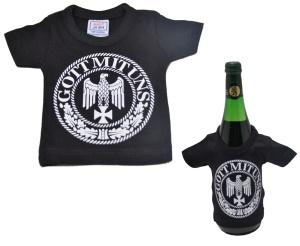 Mini Deko T-Shirt Gott mit uns K3