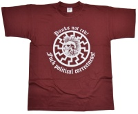 T-Shirt Punks not red FUCK political correctness