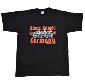 GSS German Schock Style T-Shirt Black Angels Germany G551
