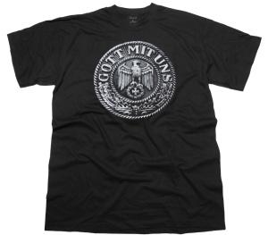 T-Shirt Gott mit uns