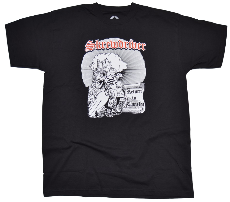 Skrewdriver T-Shirt Return to Camelot - RAC T Shirts ...