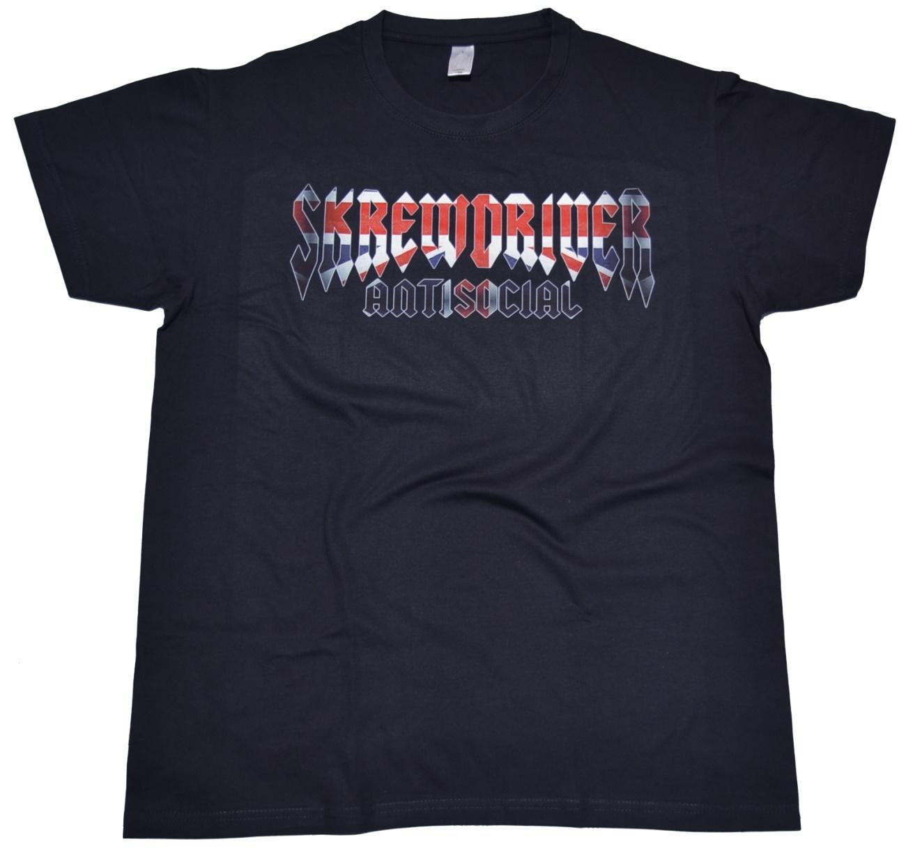 T-Shirt Skrewdriver Antisocial - Skinhead Shop T-Shirts ...