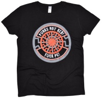Damen Shirt Punks Not Red! II G540