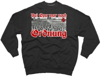 Sweatshirt Bei Opa war noch Ordnung G549