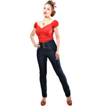 Damenjeans Rebel Kate 50iger Jahre Collectif