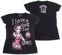 Girl Shirt Cupcake Cult Evil Clothing