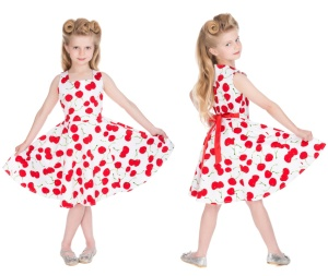 Rock n Roll Kleid Cherry Kinder H&R London
