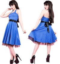 Rockn Roll Kleid H&R London Rockabilly