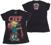 Girl Shirt Cupcake Cult Legend of Zombie Evil Clothing
