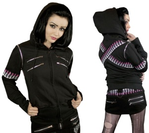 Girl Kapuzenjacke Evil Clothing Vixxsin