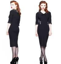 Pencil Dress/Bleistiftkleid Thelma Hellbunny Rockabilly