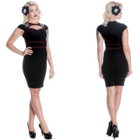 PencilDress/Rockabilly Kleid Sugar Hellbunny
