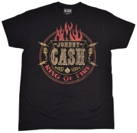 T-Shirt Johnny C A S H Ring Of Fire