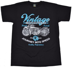 T-Shirt Vintage Motorcycles