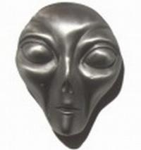 Gürtelschnalle Alien