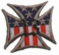 Aufnäher Eisernes Kreuz Amerika