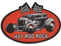 Aufnäher Hot Rod Rock