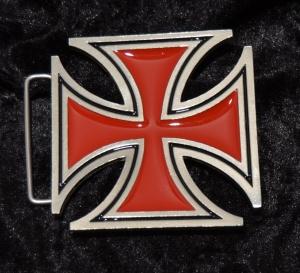 Gürtelschnalle Belt Buckle Iron Cross