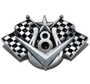 Gürtelschnalle V8