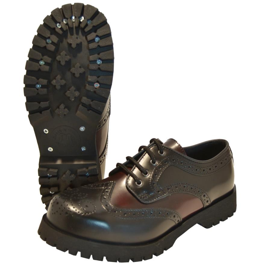 official photos cb9cd ffa9f Boots & Braces 4Loch Budapester Schuh in schwarz/burgundy - Boots & Braces  bei Ultras Shop - www.ultrasversand.de