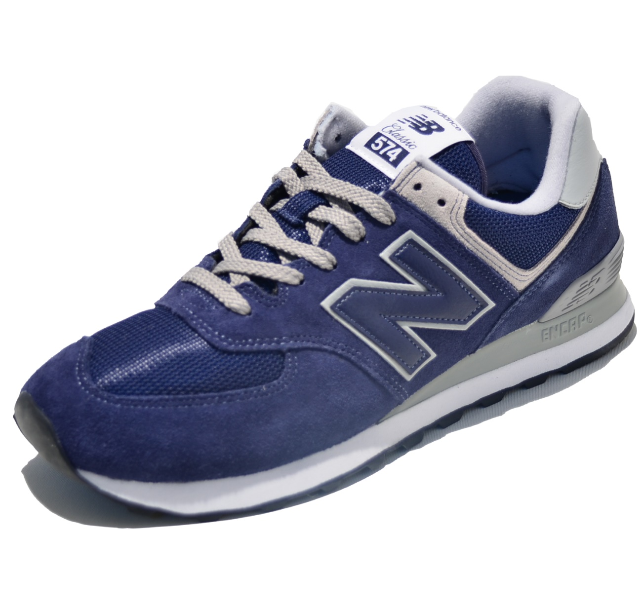 New Balance Classic Laufschuhe ML574EGN in Farbe dunkelblau New Balance bei Skinhead Shop