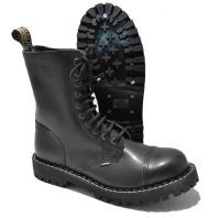 Steel 10 Loch Boots Schnürstiefel Springerstiefel