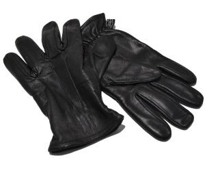 Lederhandschuh Safety mit schnitthemmenden Kevelarinnenfutter