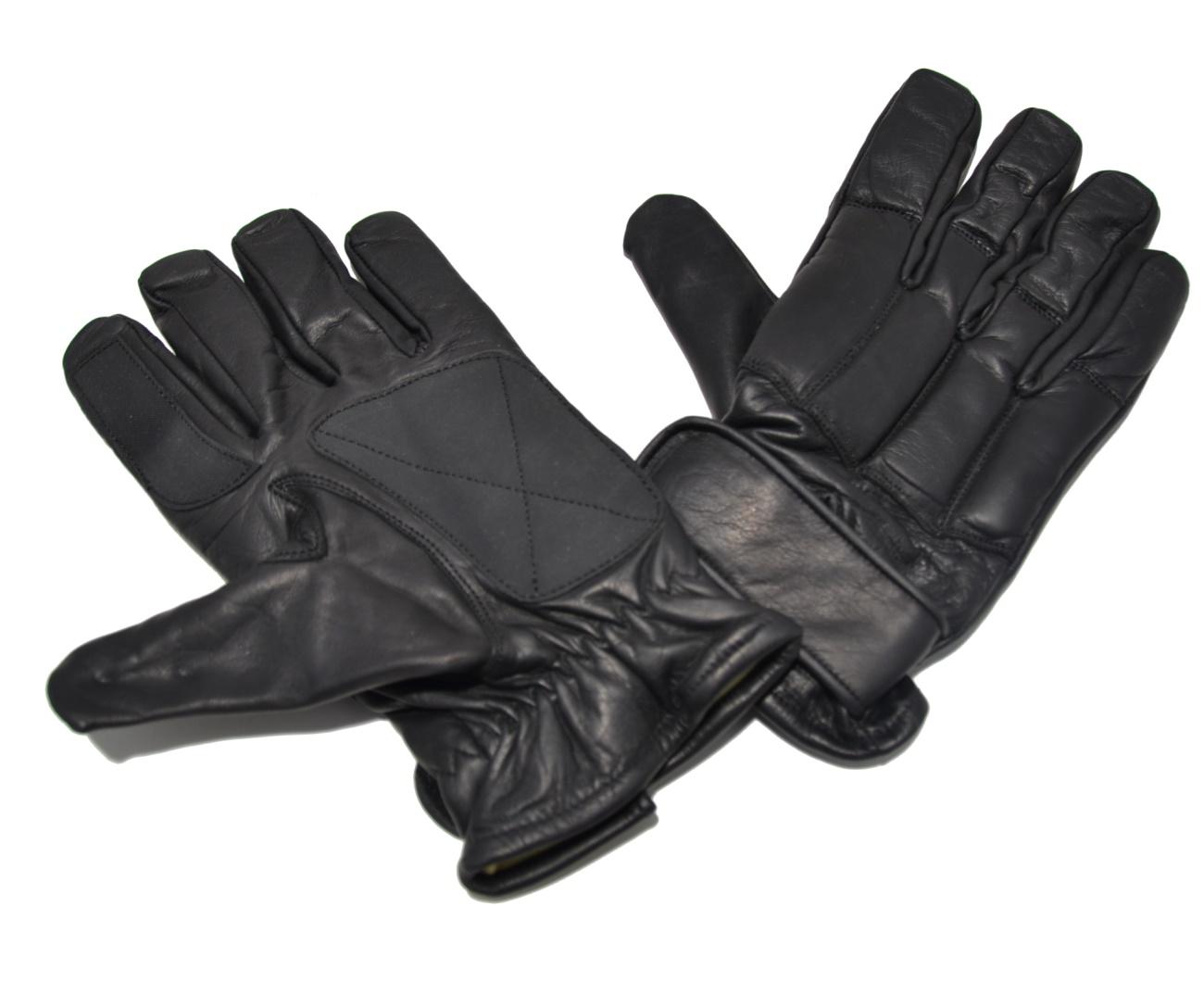 Security Handschuh Defender Plus mit schnitthemmendem Kevlar Innenfutter und Sandfüllung / Nr. 16